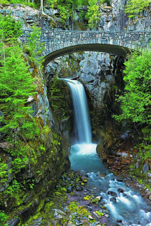 Double Bridge Falls   - USA