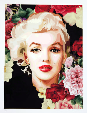 "MARILYN "" BLACK "" By ELISABETTA FANTONE"
