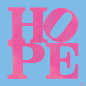"PINK&BLUE ""HOPE"" By WALLCANDY"