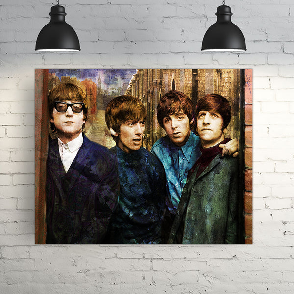 BEATLES By Gino Oliveri