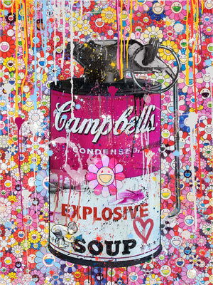 "CAMPBELL'S POP "" REDSOUP "" By WALLCANDY"