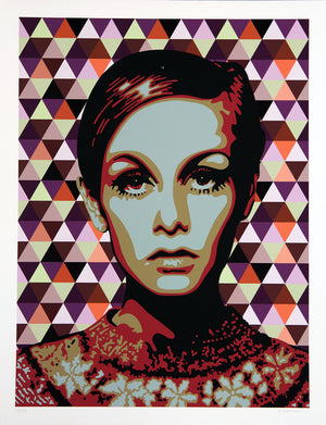"TWIGGY "" RED "" By ELISABETTA FANTONE"