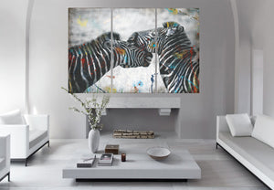 """ ZEBRA STRIPES"" WILDLIFE - BY WALLCANDY"