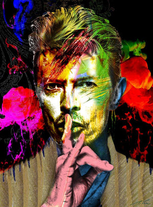 BOWIE By  Gino Oliveri