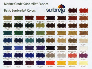 "Sunbrella® Canvas 60"" $25.00 per Yard"