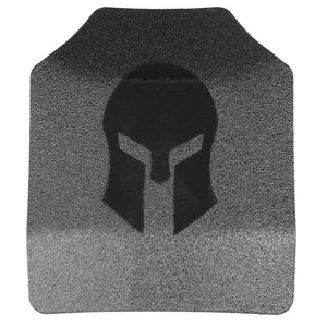 Spartan Armor Systems AR500 Level III Body Armor Shooters Cut Set of Two