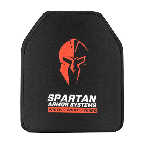 Spartan Armor Systems Level IV Multi Hit Rated Ceramic Body Armor Front View