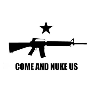 Come And Nuke Us sticker-Swag-Fenix Ammunition-Fenix Ammunition