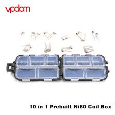 VPDAM 10 In 1 Pre-Built Coils 20s