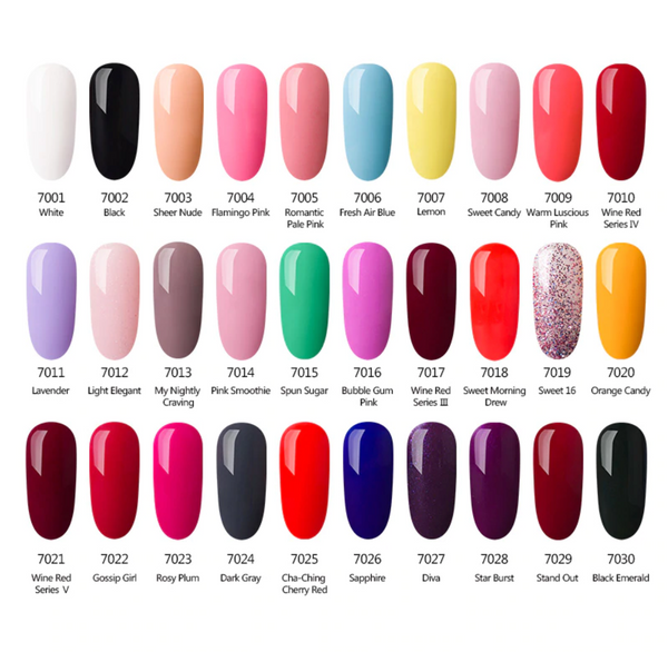 Beyocom Professional 60 Nail Gel Polish Set