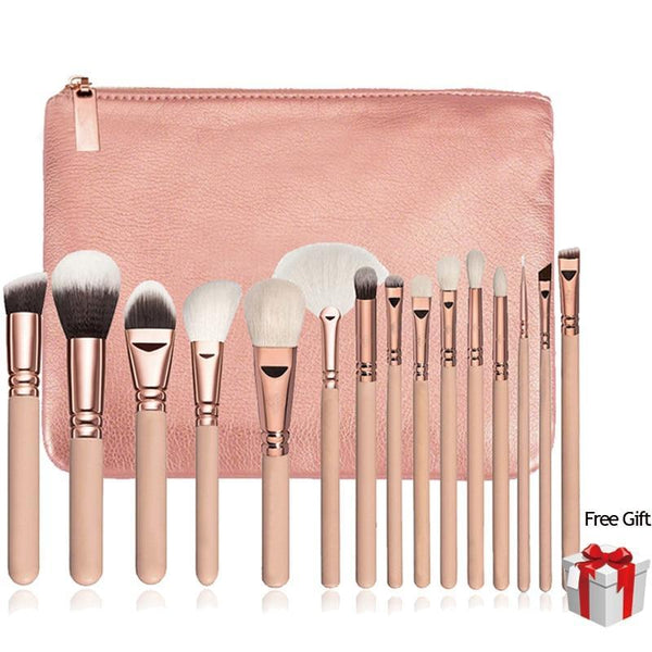Beyocom Professional Brush Set (15PC)