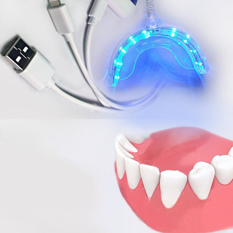 Portable For Android IOS Dental Bleaching System Smart LED Teeth Whitening Device 3 USB Ports Tooth Whitener