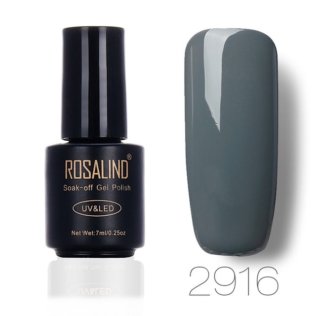 ROSALIND Beauty Gel Nail Polish