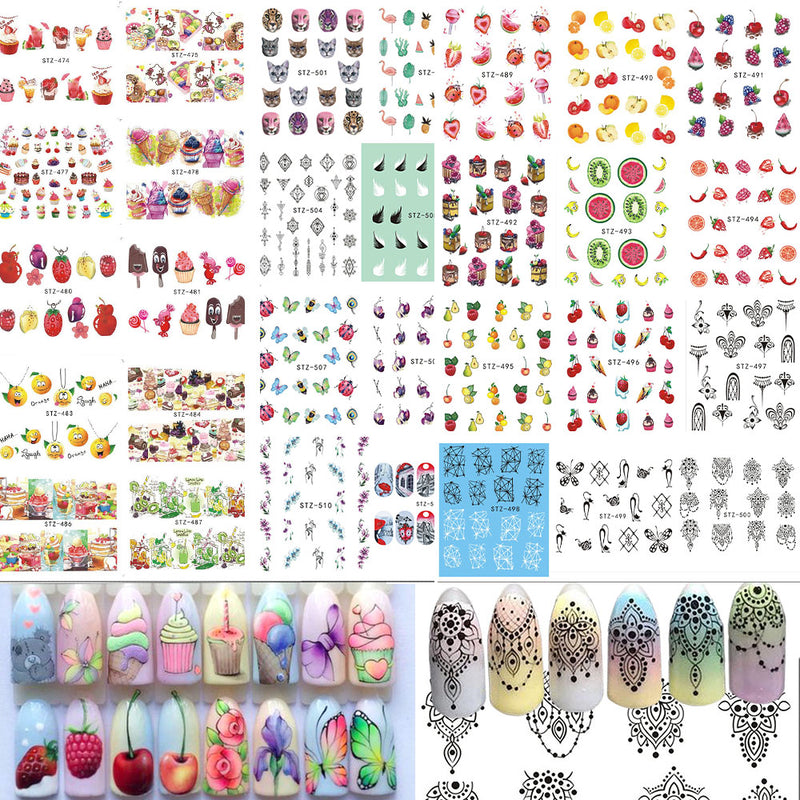 Beyocom 58 Sheet Nail Art