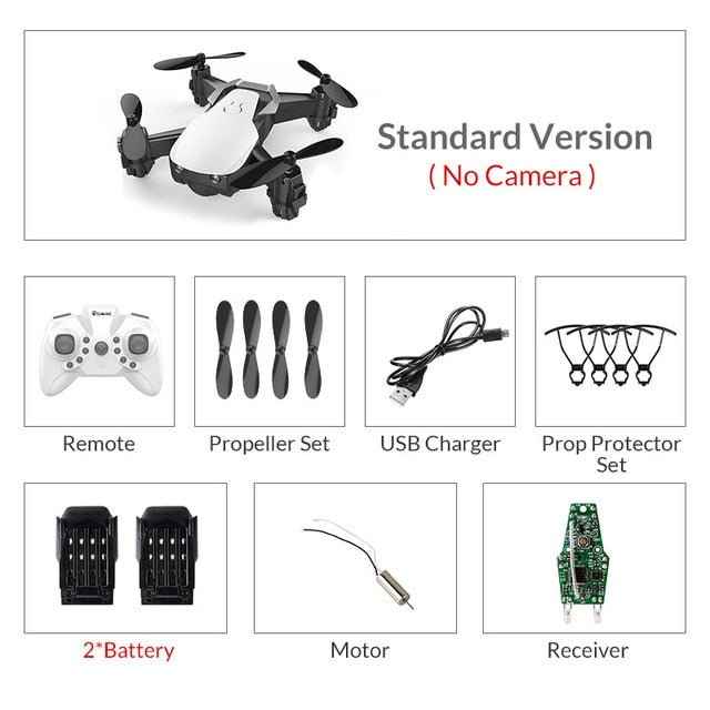 Eachine E61/E61hw Mini Drone With/Without HD Camera High Hold Mode RC Quadcopter RTF WiFi FPV Foldable RC Drone