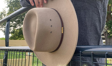 How to Clean and Care for Stetson Crushable hats