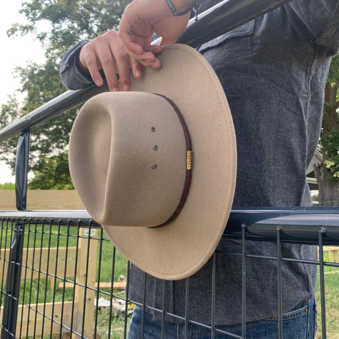 How to Clean Stetson Crushable Hats