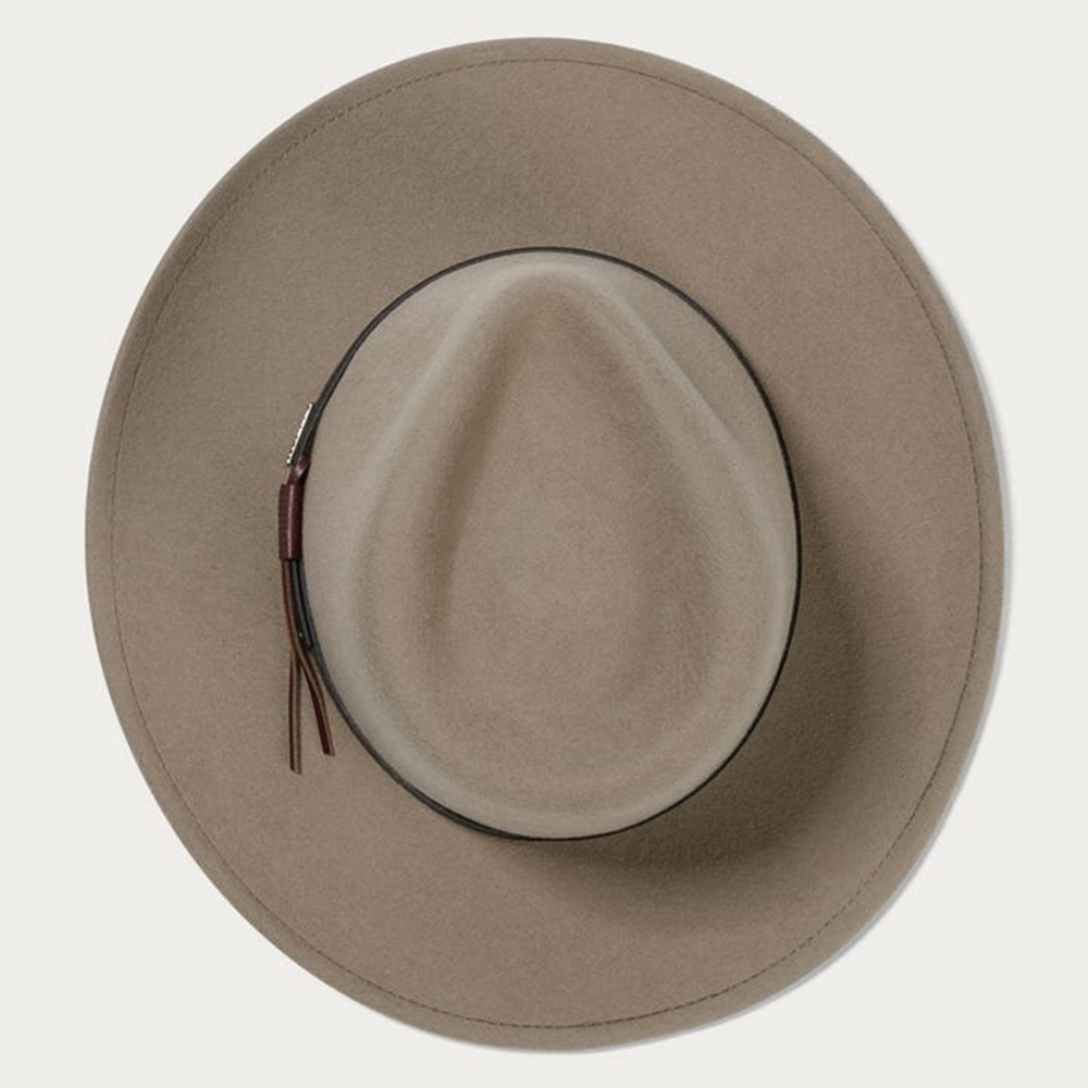 grey stetson crushable hat