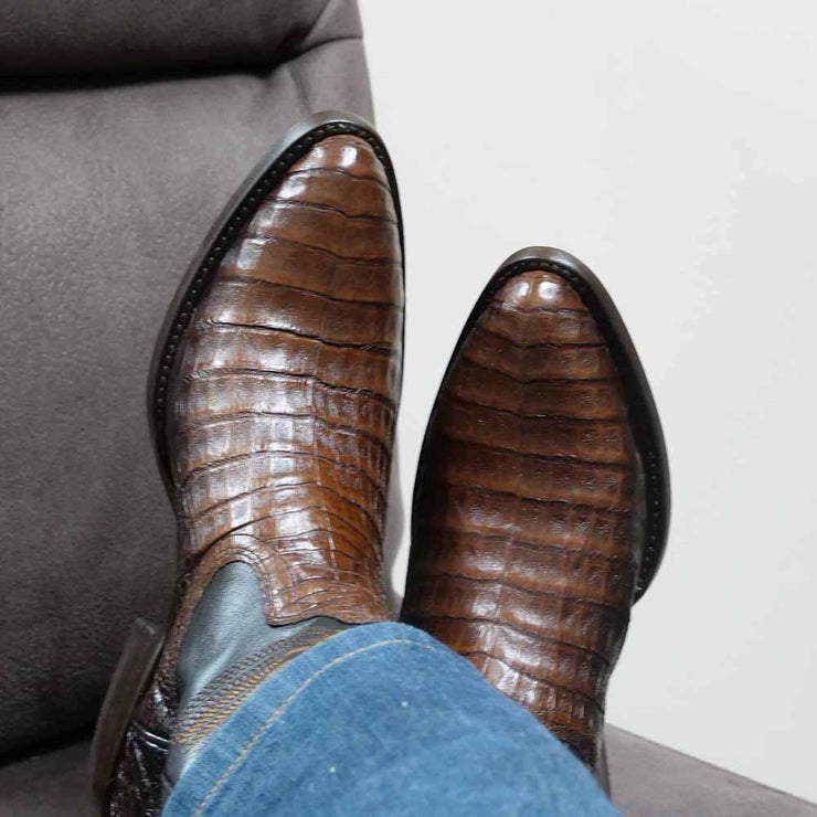 mens crocodile boots