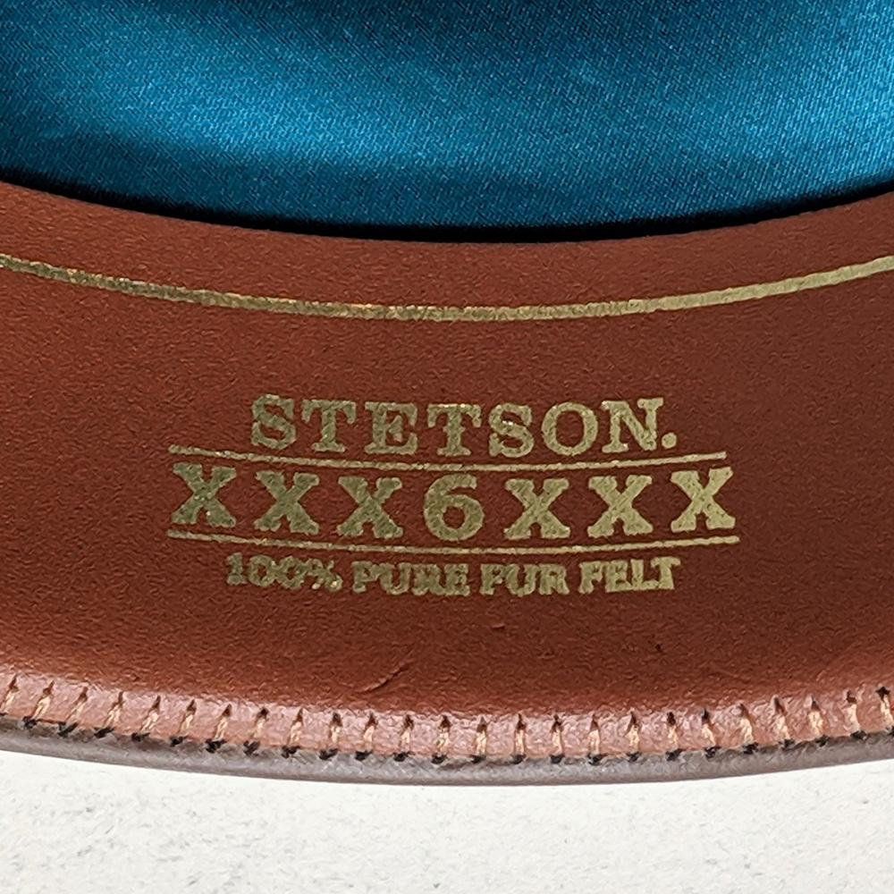 stetson cowboy hat leather sweatband