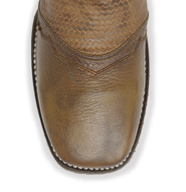 wide square toe cowboy boots