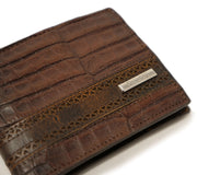 genuine alligator belly wallet