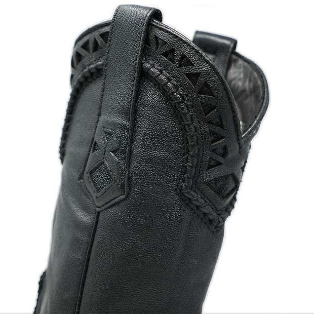 black stingray boots