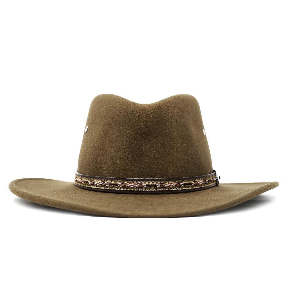 Stetson crushable kimmel brown hat