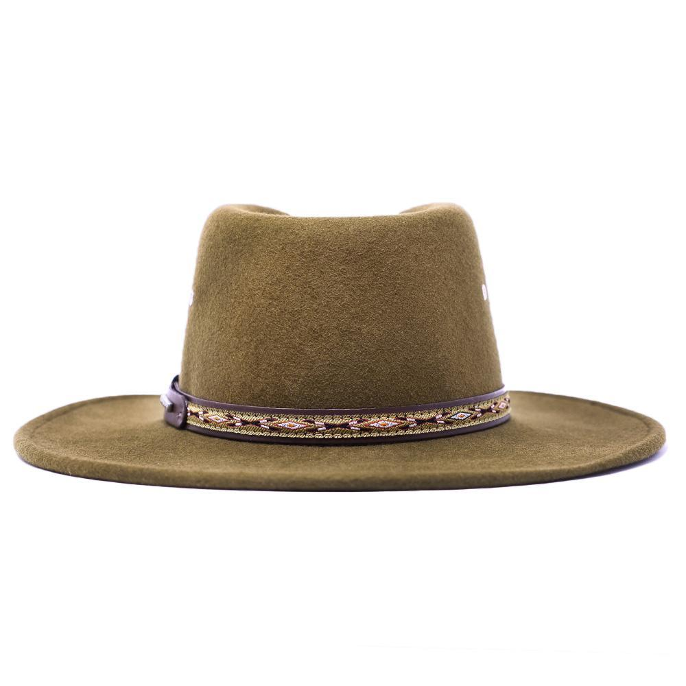 outback brown hat stetson kimmel crushable