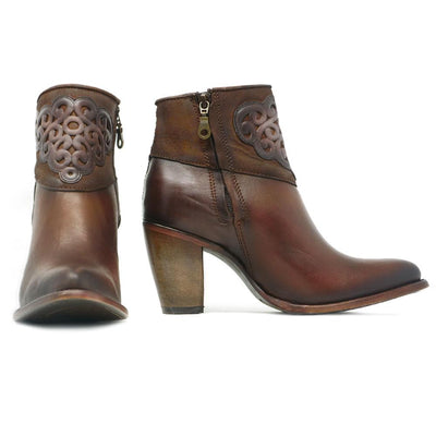 womens cuadra boots with zipper