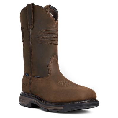 ariat waterproof workboots