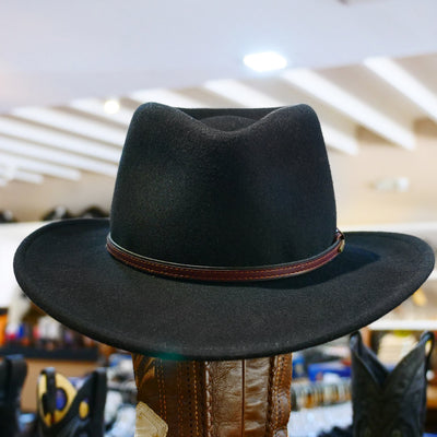 stetson bozeman crushable hat