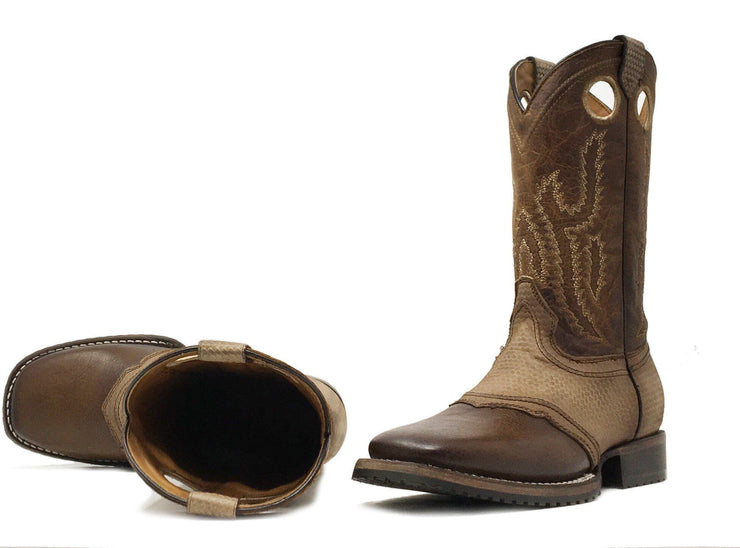 leather cowboy boots cuadra