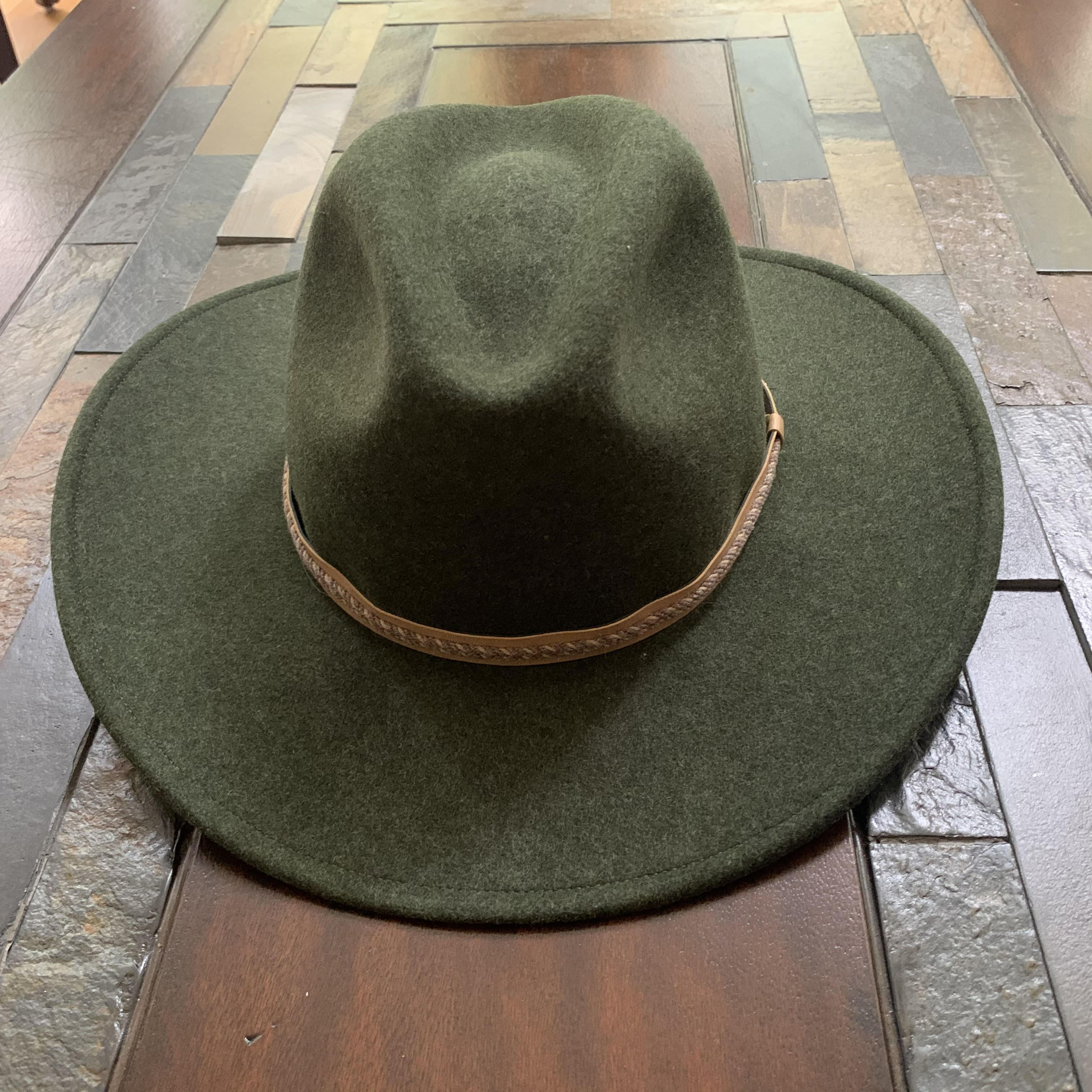Stetson pindale crushable hat