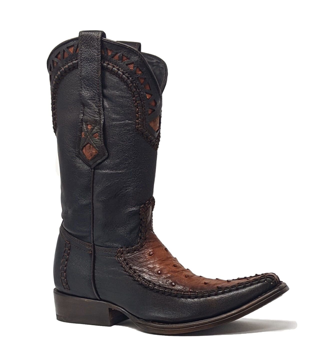 cuadra ostrich boot honey