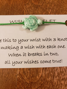 Turtle (gloss colors) Wish Bracelet