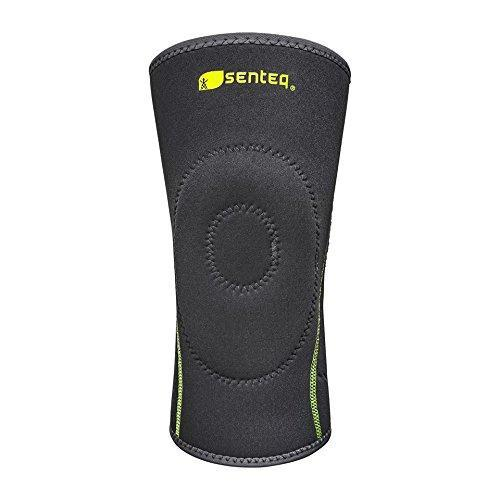 SENTEQ Neoprene Knee Sleeve with GEL Pad - Excellent Patella Protection. (SQ2-N002)-Knee-SENTEQ
