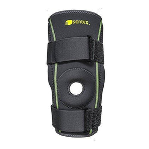 SENTEQ Dual Metal Hinged Knee Brace. Medical Grade &FDA Approved. HCPCS L1812 (SQ1-L006)-Knee-SENTEQ
