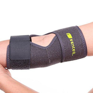 SENTEQ Elbow Brace Sleeve Support - One Size Adjustable (SQ1 H010)-elbow-SENTEQ