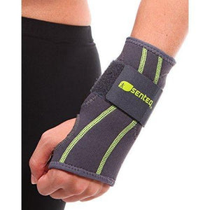 SENTEQ Wrist Stabilization Sleeve - Wraps with TPR Gel Padding (SQ2 N001)-wrist-SENTEQ