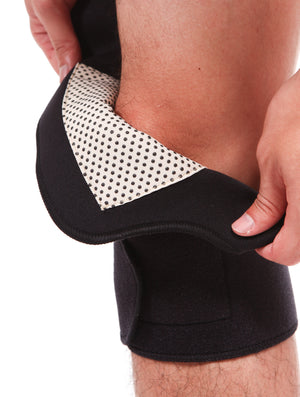 SENTEQ Aqua Heat Knee Pad - Self Heating Magnets & Tourmaline (SQ2-G001)