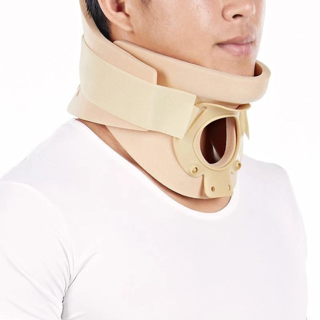 SENTEQ Cervical Collar with Open Trachea - Medical Grade & FDA Approved HCPCS L0172 (SQ1-A005)-neck-SENTEQ