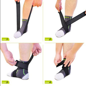 SENTEQ Ankle Brace with TPR GEL Pads (SQ2-N003)