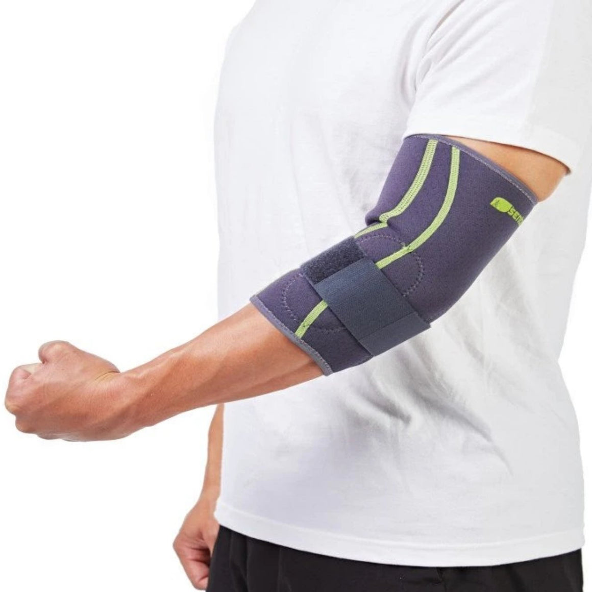 SENTEQ Tennis Elbow Brace with Strap & Inner GEL Pads  (SQ2-N007)