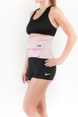 SENTEQ Women Back Brace Lumbar Support - Pink Lumbar Support Treats Acute or Chronic Back Pain (SQ3-O009)