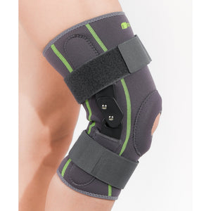 SENTEQ Dual Hinged Knee Brace Support - Medical Grade & FDA Approved. HCPCS L1812 (SQ1-L005)-Knee-SENTEQ