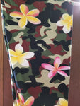 PS  Camo w/yellow and pink flowers leggings