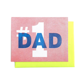 #1 Dad - Father's Day Greeting Card - Next Chapter Studio