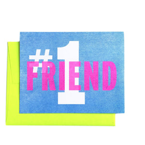 #1 Friend - Greeting Card - Next Chapter Studio