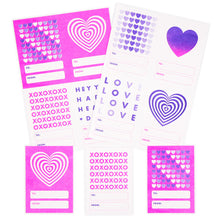 Valentine Mini Cards - set of 16